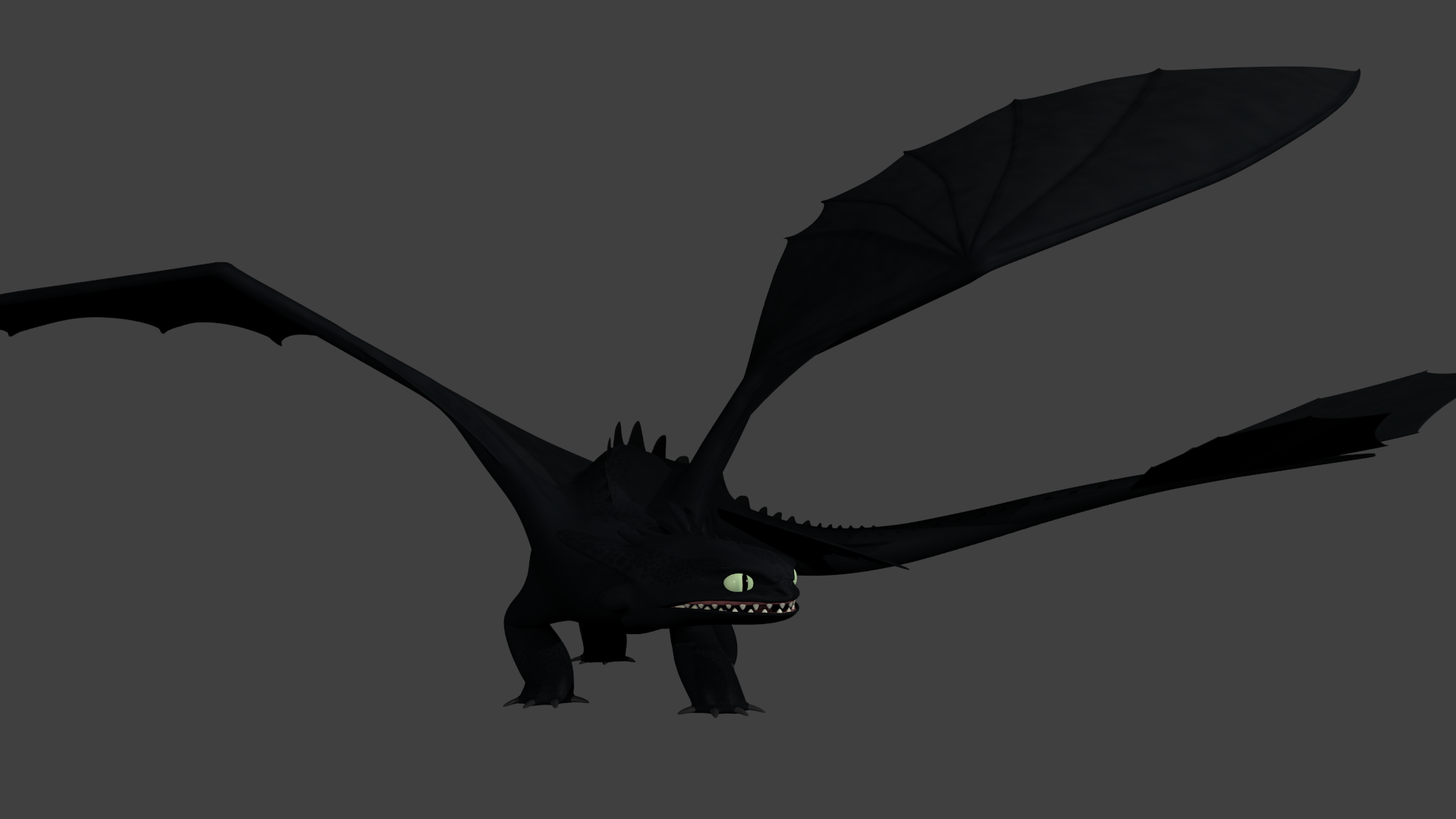 Night Fury - Rig Test 3